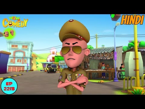 Inspector Patlu - Motu Patlu in Hindi - 3D Animated cartoon series for kids - As on Nick thumbnail