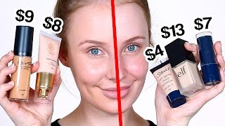 Trying Out CHEAP Foundations! | Lauren Curtis