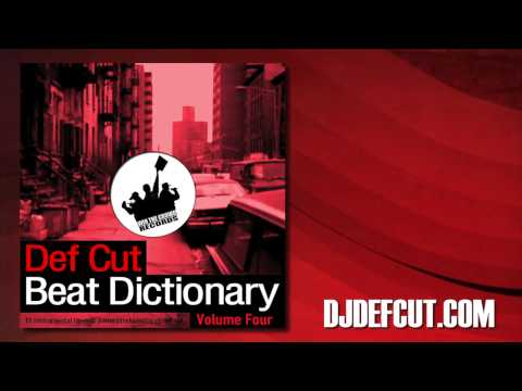 Def Cut - The One And Only - Beat Dictionary Vol. 4 video