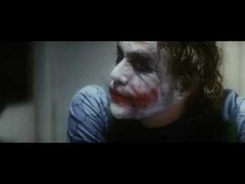 Buna özendi James Holmes Abd de Katliam yapti-  Heath Ledger - Incredible Acting- Holmes thought he