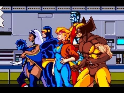 X-Men Arcade Video Review