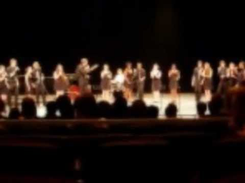 "Hamilton High School Jazz Choir ""Spain"" - Fullerton College Jazz Festival 2013"