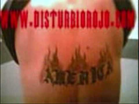 sitios de tatuajes en bogota. Tatuajes Del Disturbio Rojo Bogota