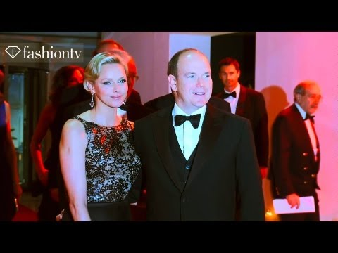 Princess Charlene & Prince Albert at the Monaco Grand Prix Gala in Monte Carlo | FashionTV
