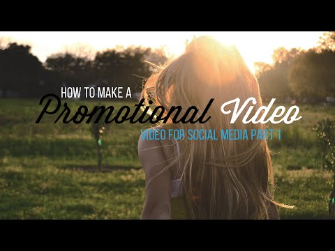5 Tips for shooting promotional videos.