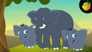 Haathi Aaya - Hindi Animated/Cartoon Nursery Rhymes For Kids