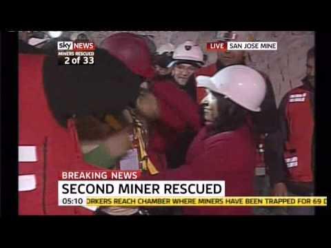 Chile Miners Rescue  2 Mario Sepulveda Espinaze