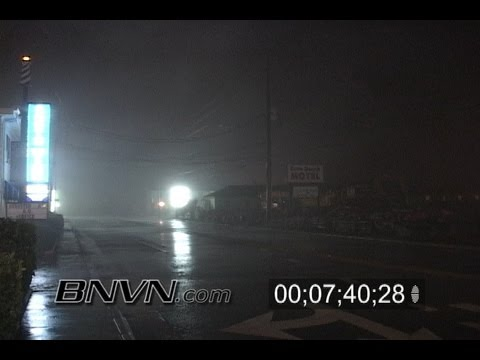 8/31/2006 Tropical Storm Ernesto footage from Carolina Beach, NC.