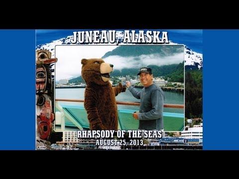 Alaska Cruise Royal Caribbean Cruise Lines, Rhapsady of the Seas.