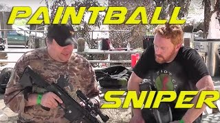 Paintball Stereotype: Interview with a Paintball Sniper