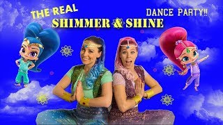 Real Life SHIMMER AND SHINE Dance Party! | SamLandTV