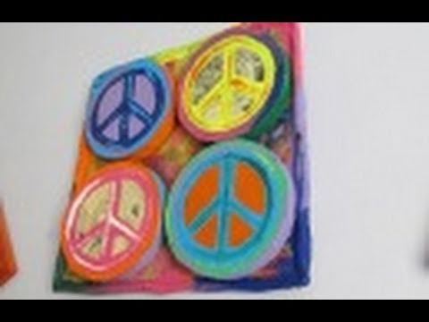 2.6 Manualidades: CUADRO PEACE 3D ☮