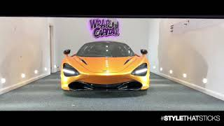 McLaren 720s - Wrapped in Candy Orange