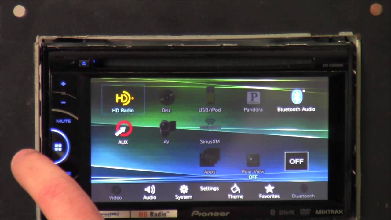 Pioneer Avh-x3600bhs - Out Of The Box