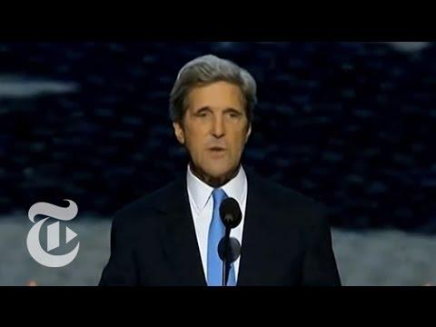 John Kerry's DNC Full Speech - Elections 2102