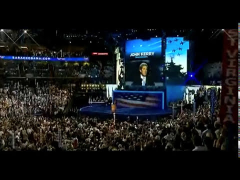John Kerry's DNC Full Speech - Elections 2102