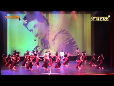 Lat Lag Gayi - Surrey Advance Shiamak Summer Funk 2013 - Vancouver video