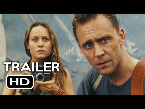 Kong: Skull Island Comic Con Trailer (2017) Samuel L. Jackson, Tom Hiddleston Action Movie HD