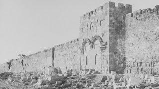 Иерусалим и окрестности на снимках Луи Де Клерка, 1860 год