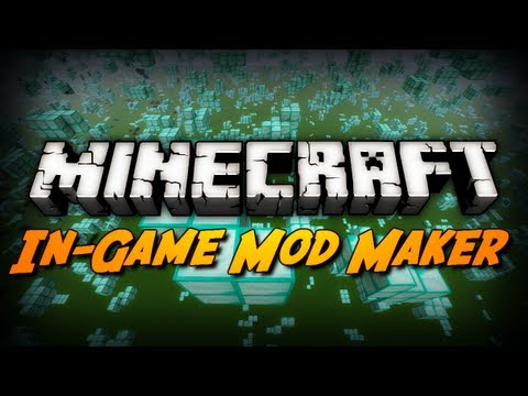 Minecraft Mod Review: LAYMAN MOD MAKER! (In-Game Mod Making Tool)