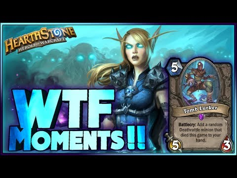 Hearthstone - WTF Moments, INSANE!! - Funny and lucky Rng Moments