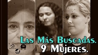 Nine of the Most Wanted Criminals in Mexico are Women
