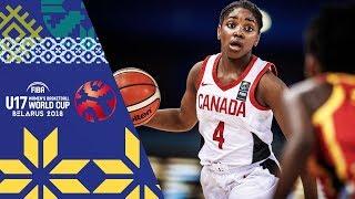 LIVE 🔴- Canada v Angola - FIBA U17 Women's Basketball World Cup 2018