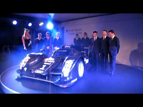 Dailysportscar.com Audi R18 Le Mans Launch Video 1
