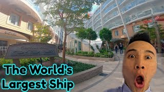 Royal Caribbean's Symphony of The Seas- They have a park on the ship?!