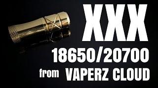 'XXX' 18650 OR 20700 mech from Vaperz Cloud - Beast mode engaged!