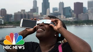 Unforgettable Moments From The 2017 Solar Eclipse | NBC News