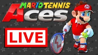 "MARIO TENNIS ACES HYPE!! Let's Have a ""Swinging"" Good Time ;)"