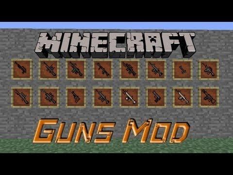 Minecraft สอนลงMod ปืน 1.5.1-1.5.2 +Mod TooManyItems - Rivth28