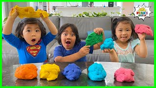 Play this video How to Make Playdough Homemade  DIY with Ryan39s World!