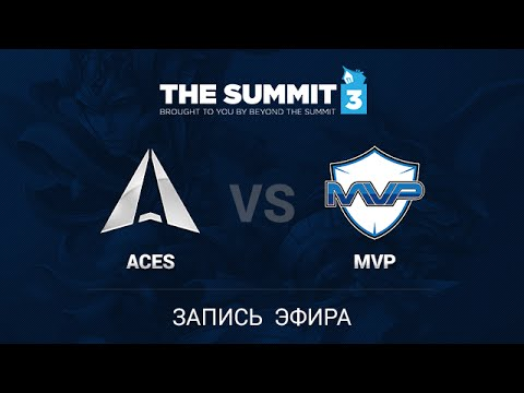 Nvidia Aces -vs- MVP.Hot6, The Summit 3 SEA Qual, game 3