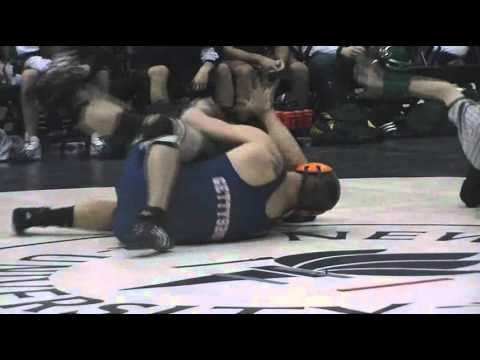Gettysburg Wrestling NYU Quad Highlights 1/14/2012