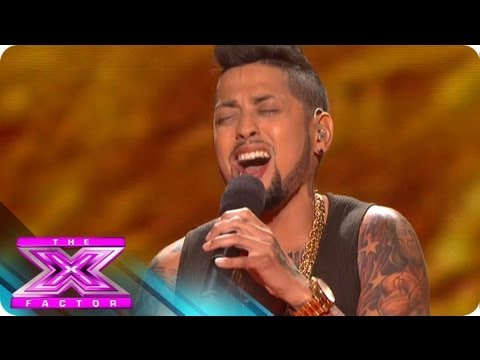 David Correy Sings for Survival -  THE X FACTOR USA 2012