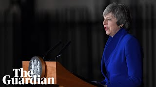 Theresa May makes statement at 10 Downing Street – watch live