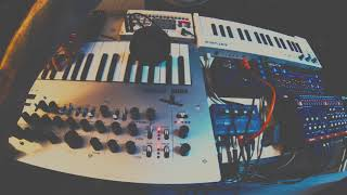 Earthling - Ambient Synth Jam // Roland Boutiques // Korgs // Arturia