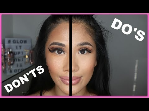 Make Up Mistakes to Avoid    DO's & DONTS