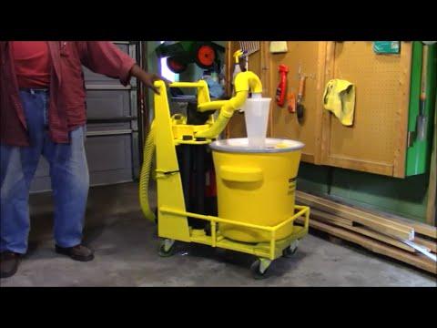DIY Workshop Dust Collection System
