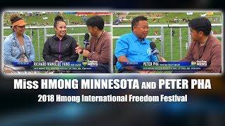 SUAB HMONG NEWS:  With Miss Hmong Minnesota and Peter Pha