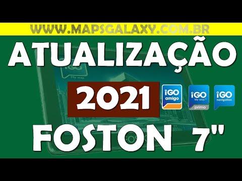 Atualização Primo 2014 Igo8 Amigo GPS Foston 7 polegadas Download