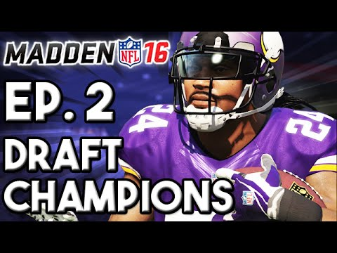 Madden 16 Draft Champions Ep.2 - The Championship Run (A Superstar WR Emerges!)