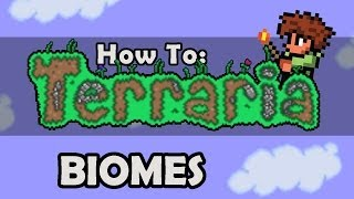 How To Terraria: Episode 4 - Basic Biome Tutorial