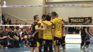 Aftergame Playoff 1. Tiikerit - LEKA Volley la 14.3.2015 Antti Leppälä