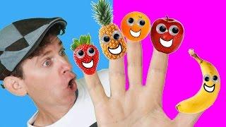Finger Family Song - Fruit Family With Matt   Nursery Rhymes, Children's Song   Learn English Kids