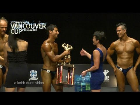 INBF Bodybuilding and Male Fitness Model Highlights