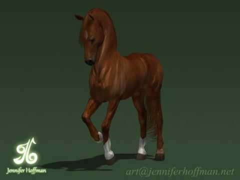 Animated Dancing Horse Dancing Horse