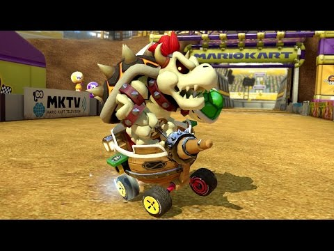 Mario Kart 8 Deluxe - 200cc Leaf Cup (Dry Bowser Gameplay)